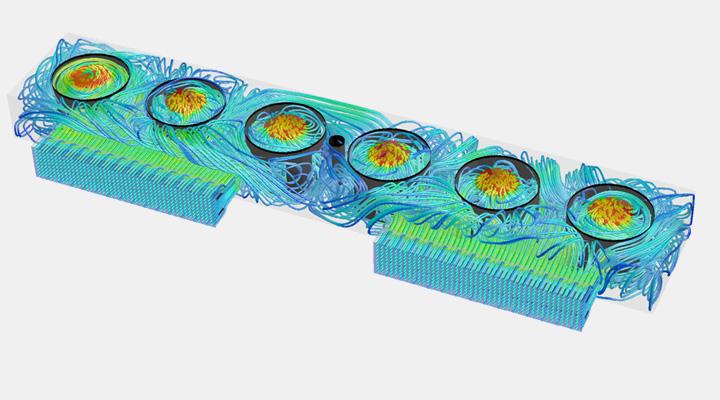 Analisi fluidodinamica CFD