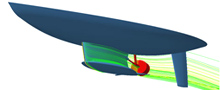 Fluidynamic Analysis for Shipbuilding Industry